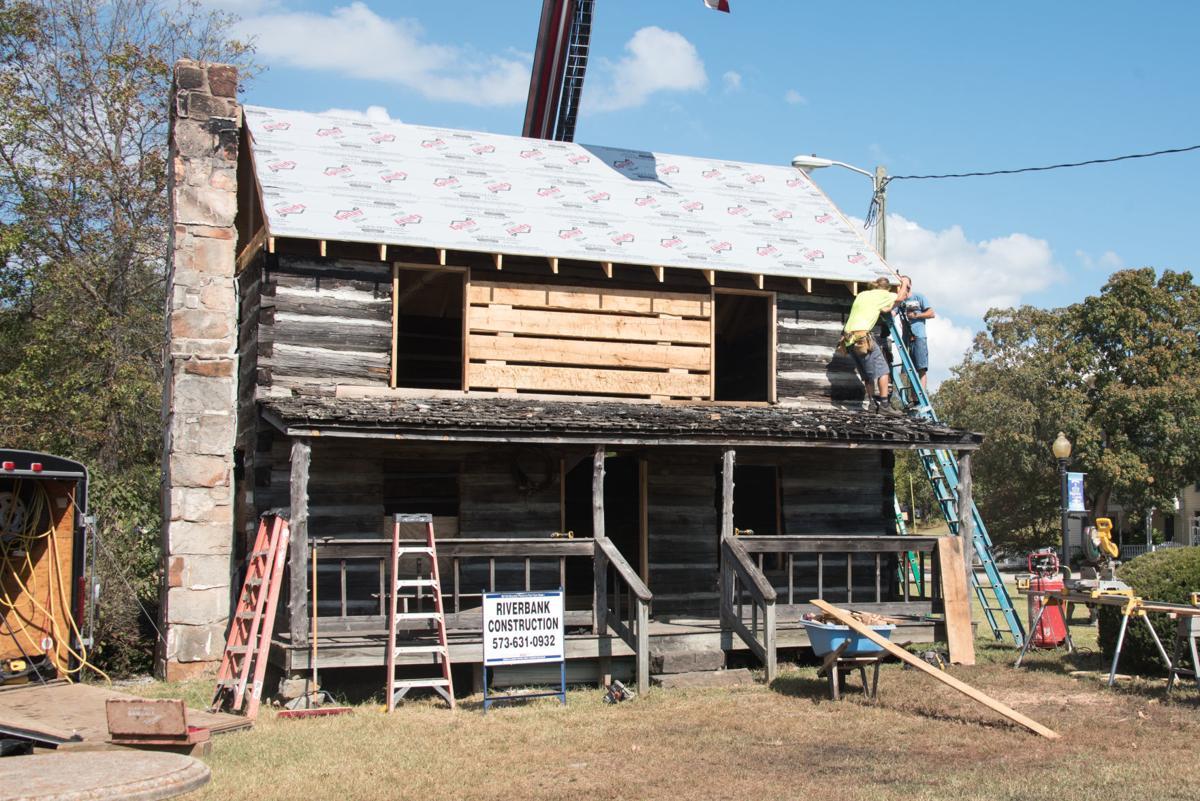 Henry and Jane Sitzes Log Homestead restoration