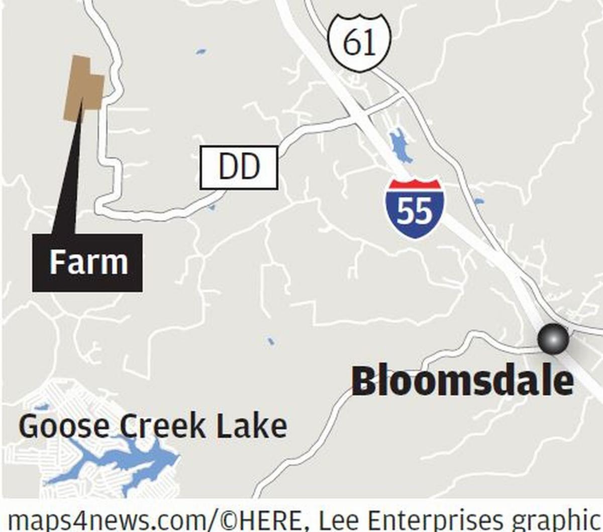 Map where is farm