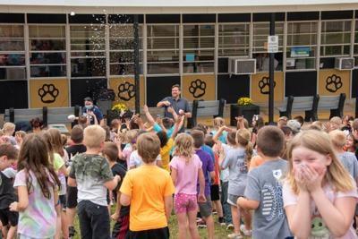 Fredericktown Elementary School Snow Cone Block Party