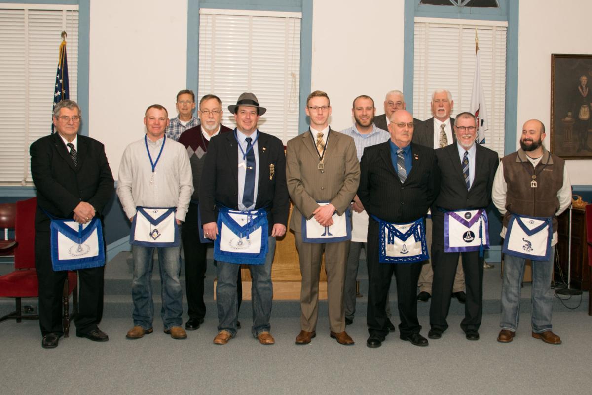 Masonic Lodge Installs Officers
