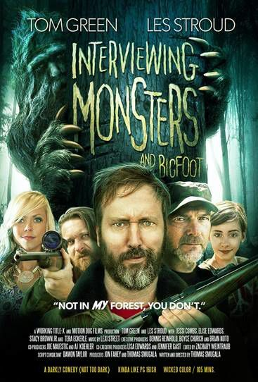 'Monsters and Bigfoot' released!