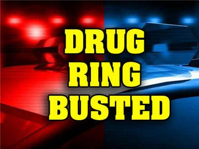 Five charged in multi-state drug ring