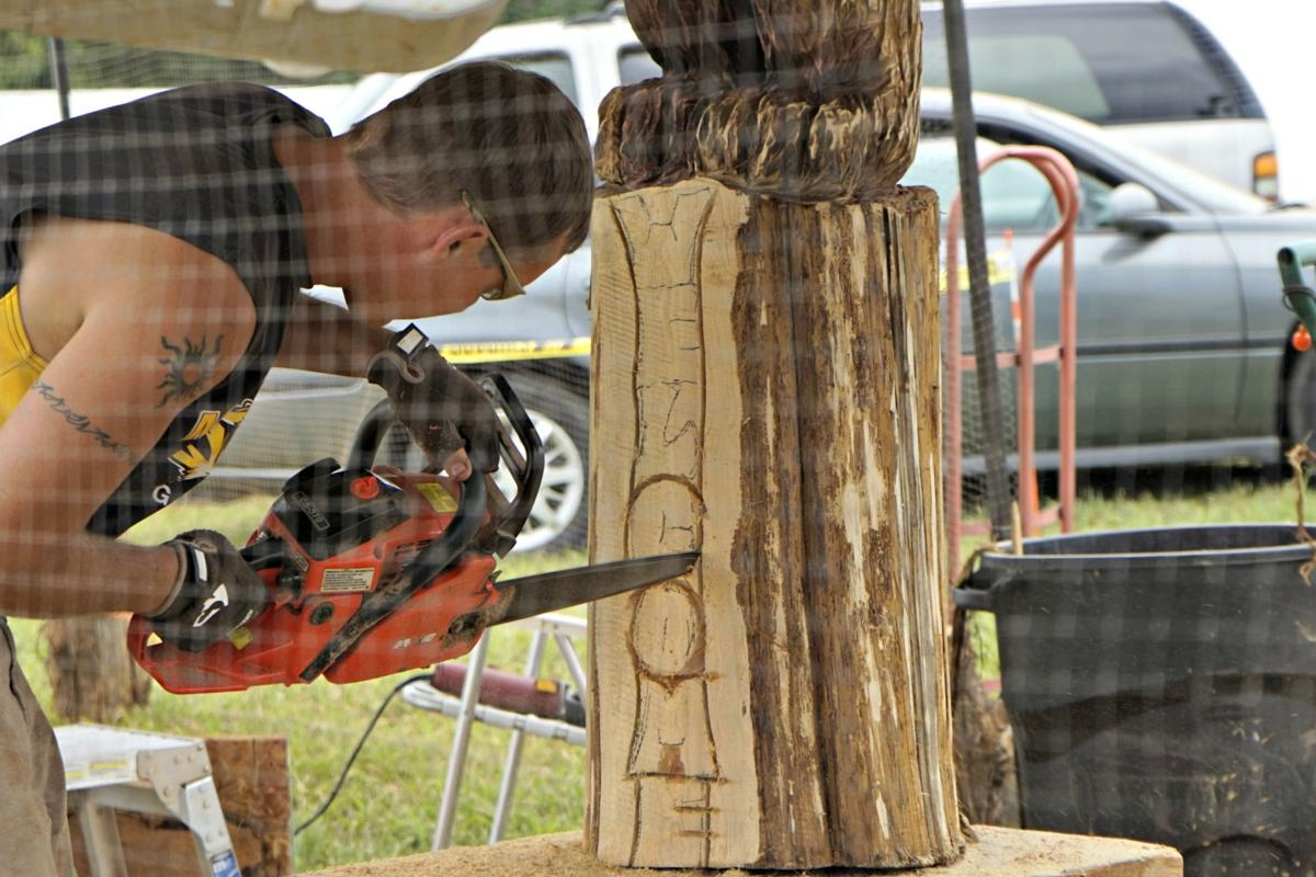 For the gagnons chainsaw carving is a family business local