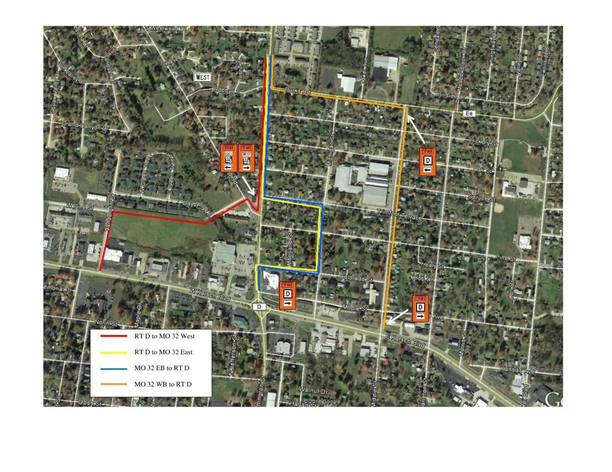 City announces street closures
