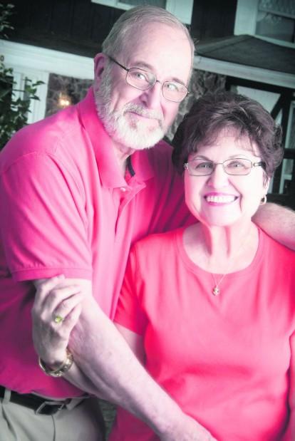 Couple mark 50th anniversary