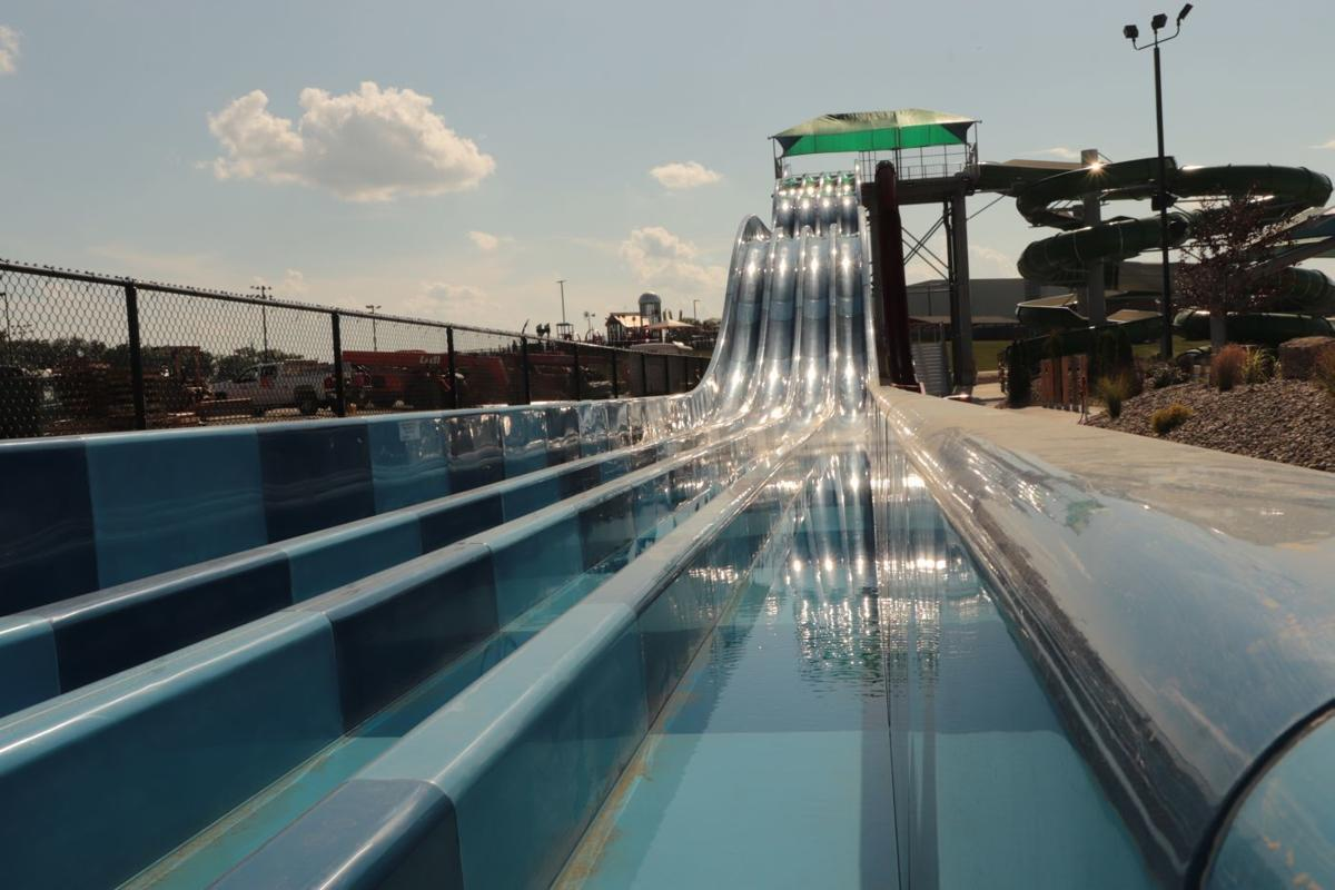 Waterpark nears completion