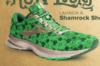 87fed2e8828 You Can Now Buy St. Patrick s Day-themed Running Shoes
