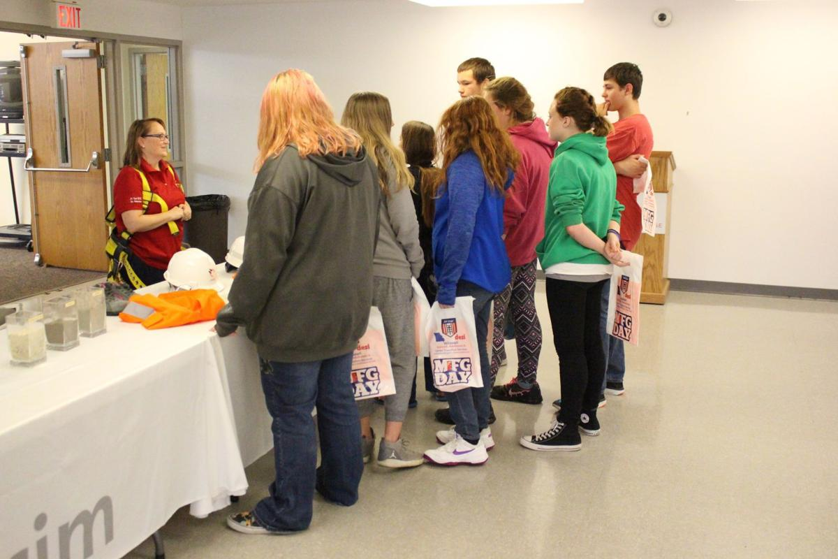 Students attend Manufacturing Day