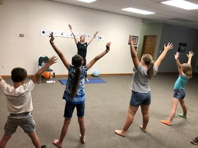 Sun & Moon Yoga Class Reaches For The Stars