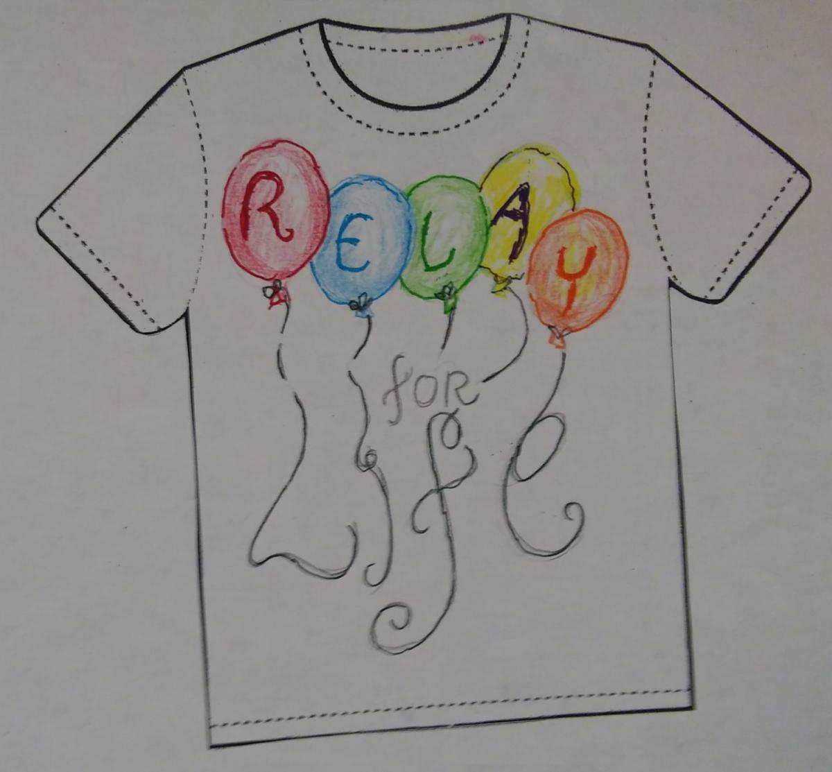 Former art teacher wins T-shirt design contest