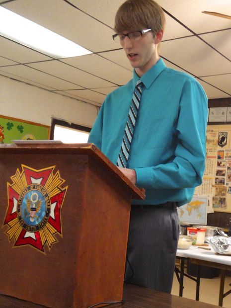 Middle School Students Take Top Prizes in VFW Patriot Pen Essay Contest