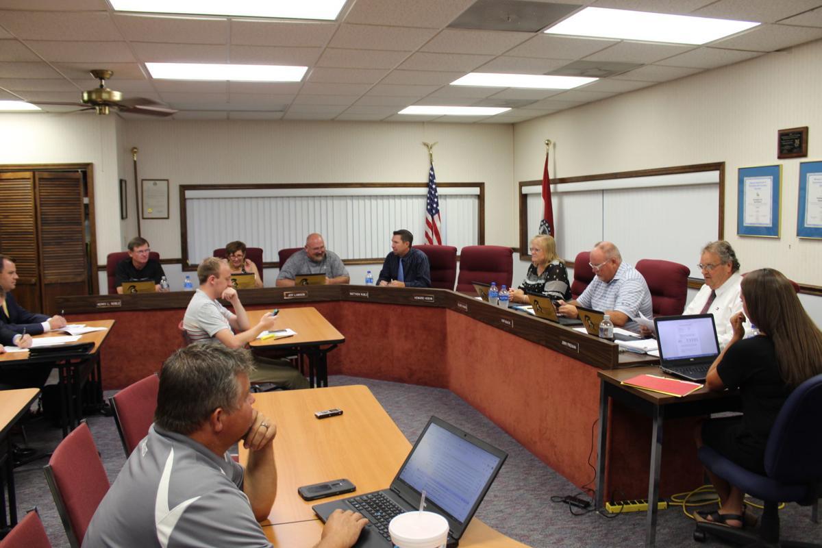 Farmington School levy meeting