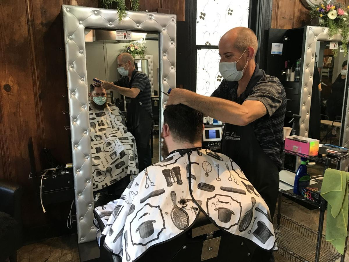 Hair salons reopen across the Parkland