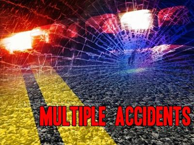 Several injured in recent accidents