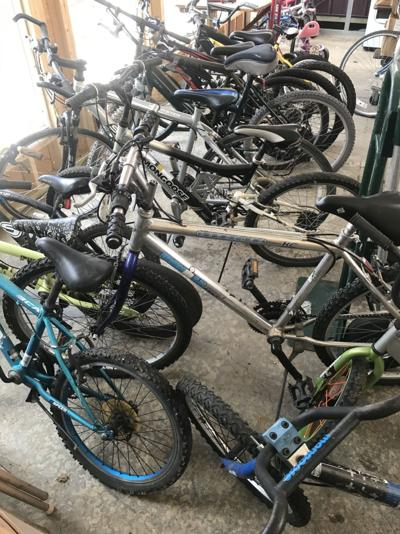 Area organizations cooperate on bicycle reclamation