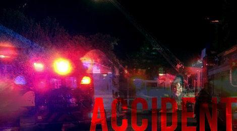 One injured in crash