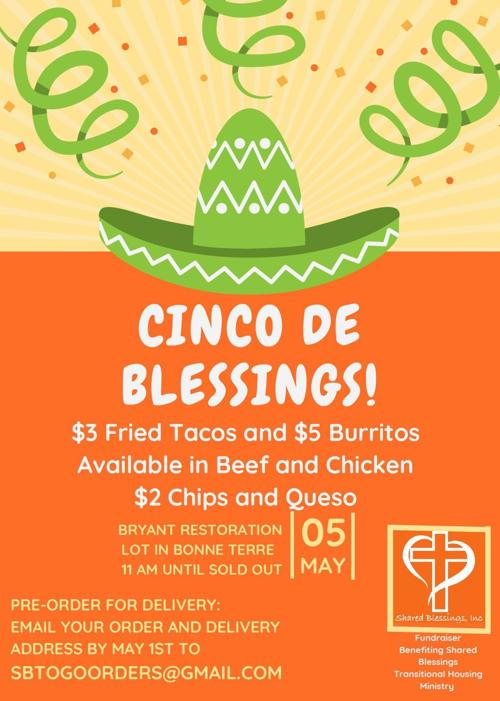 Cinco de Blessings set for May 5