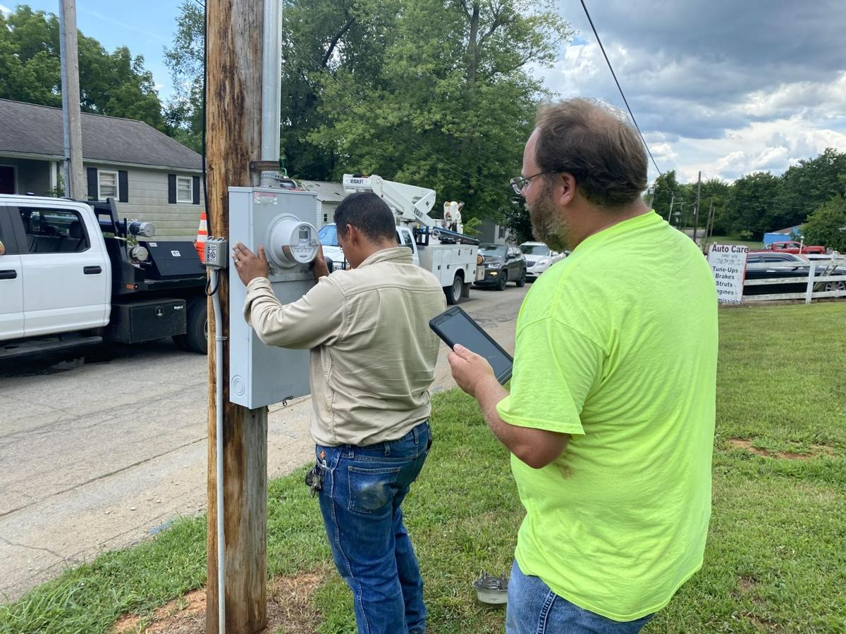 City of Fredericktown installs new meters