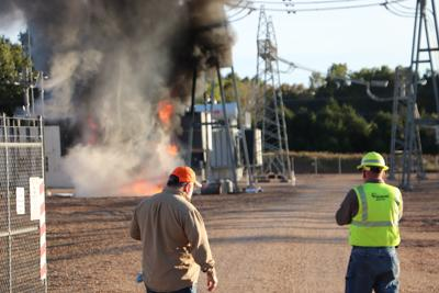 Several depts. respond to substation fire