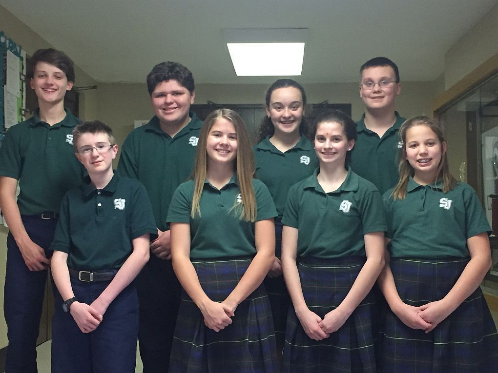 St. Joseph Catholic School seventh grade students qualify to take ACT