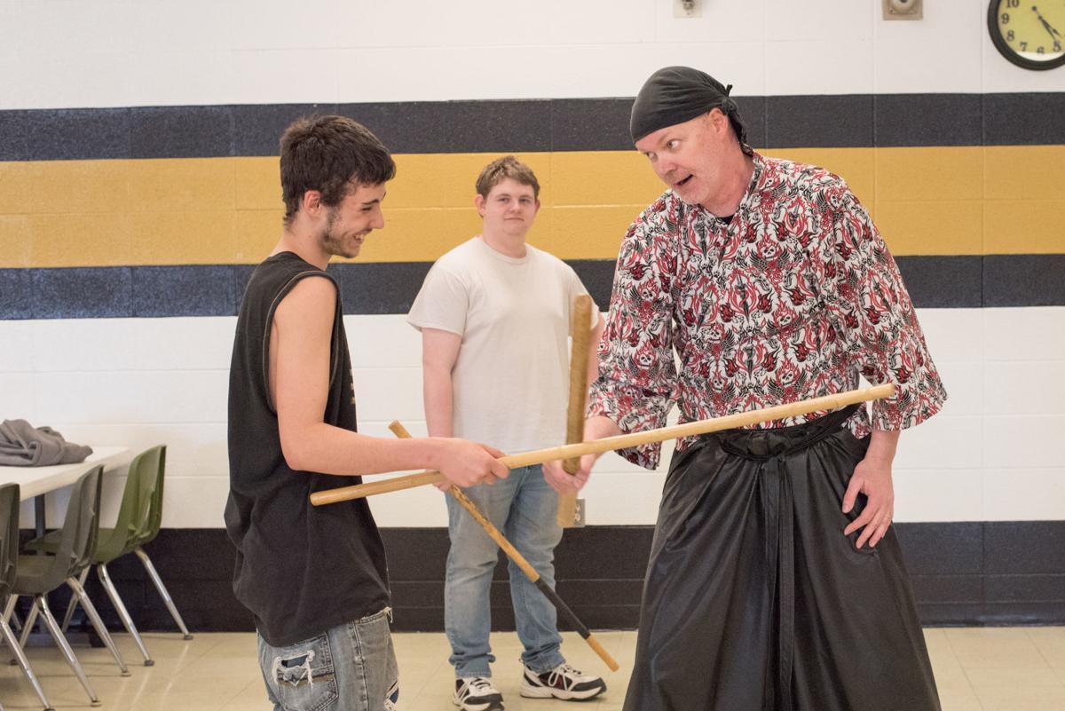 Samurai visits FHS