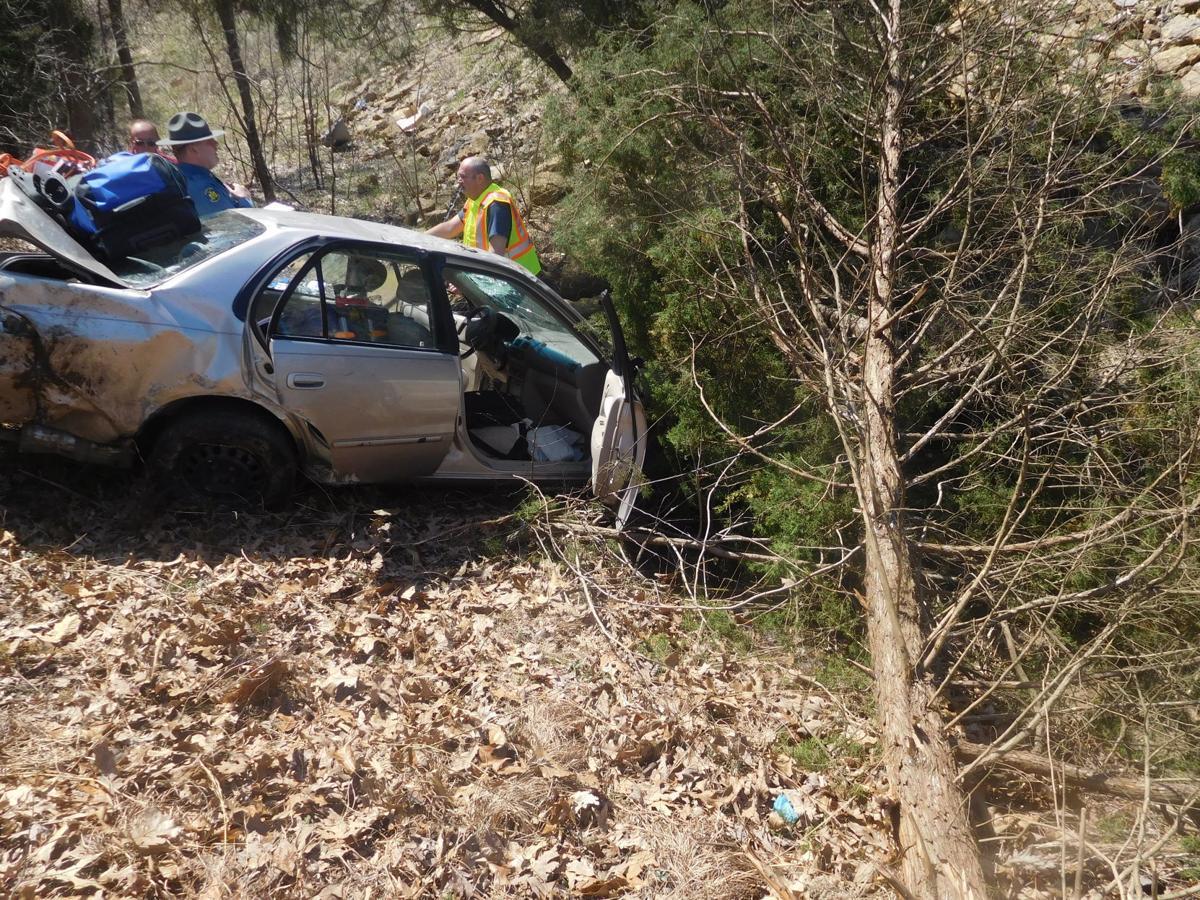 One Injured In U.S. 67 Crash