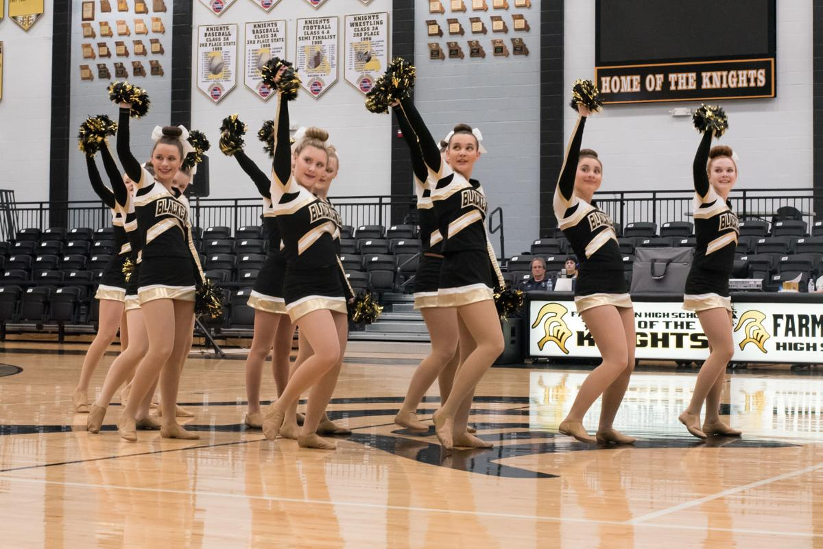 Gold Dusters dance