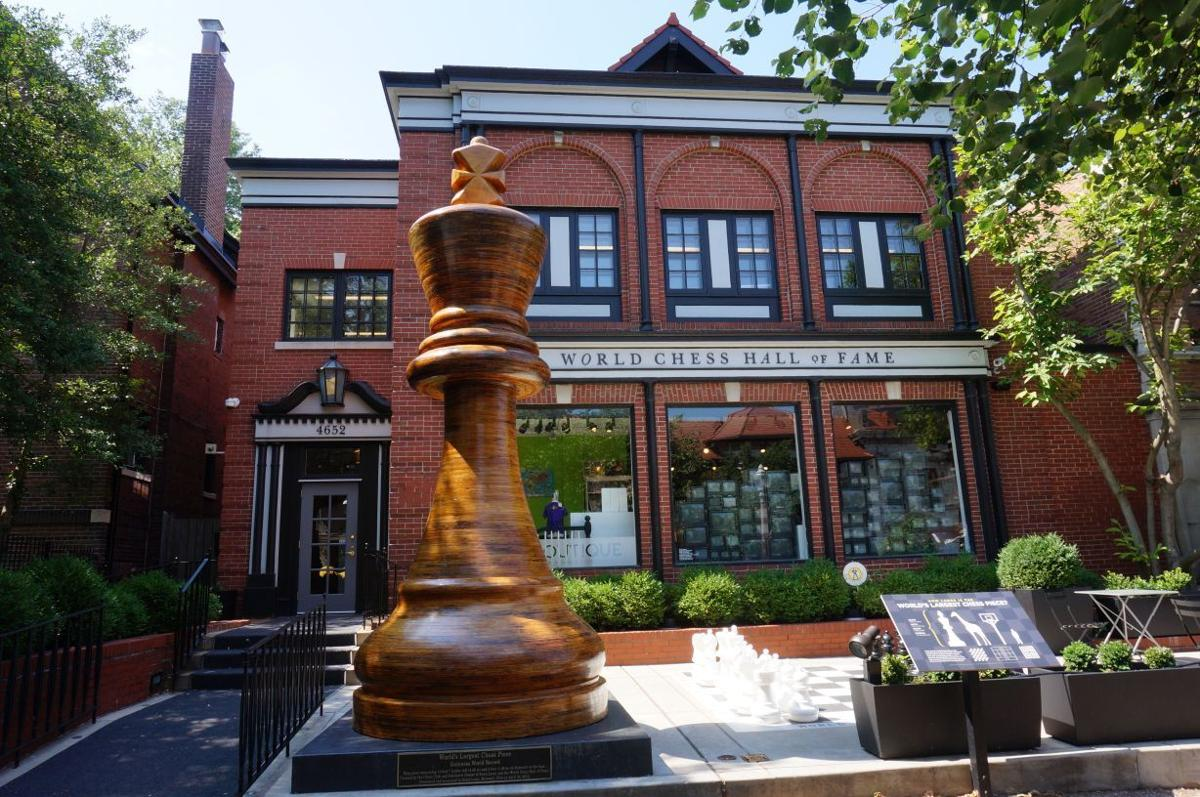 Tank of gas - The World Chess Hall of Fame