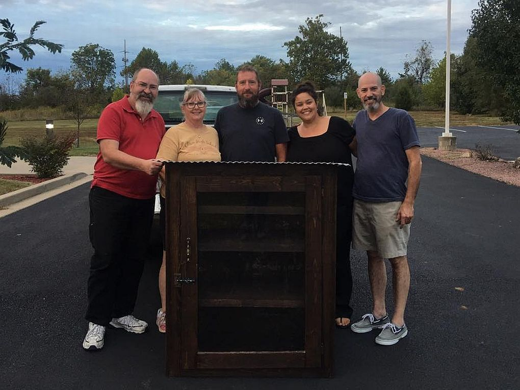 'Blessing Box' designed to serve community