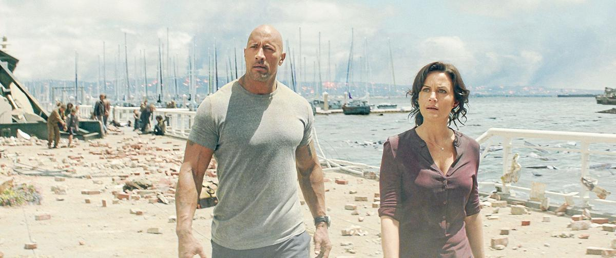 'San Andreas' was a 'life-changing experience' for Dwayne Johnson