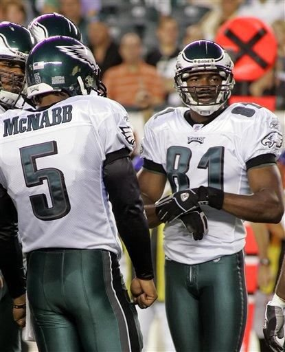 McNabb, TO teaming up again -- for TV show