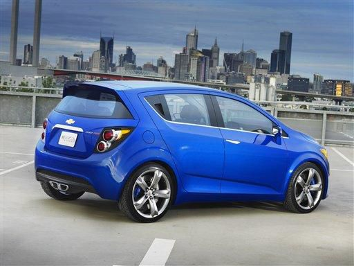 Small, electric on showcase at Detroit auto show