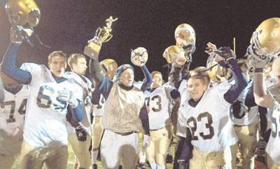 Whites TD gives Rustin first district title