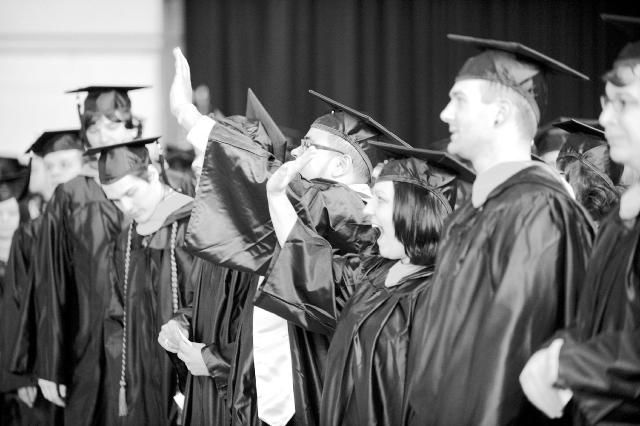 West Chester University holds commencement exercises