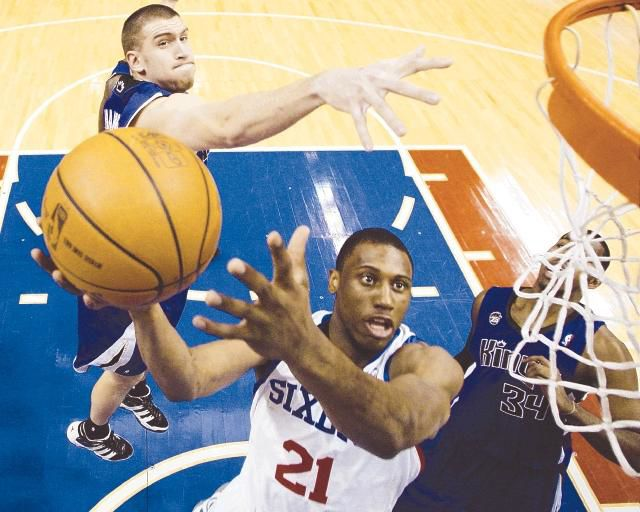 Sixers down Kings for third win in four games