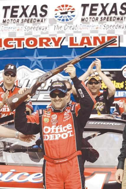 Stewart wins 1st Cup pole in 5 years