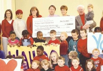 $2,500 grant to help Stepping Stone Center