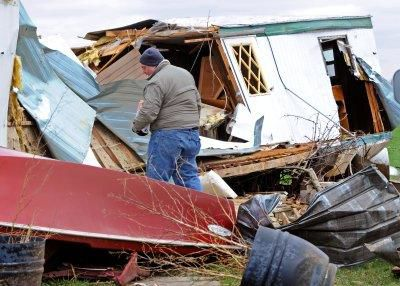 Tornado destroys Lancaster County homes