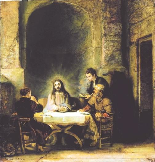 'Rembrandt and the face of Jesus'