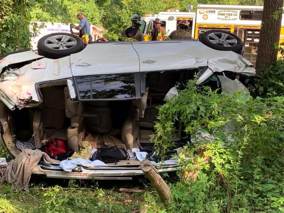 2 injured in 3-vehicle collision on Route 322 bypass in West Goshen