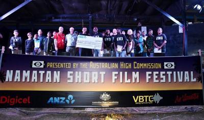 Vanuatu musical Taetem Strap wins Namatan Short Film Festival