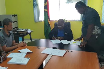 Contract signed for construction of juvenile centre