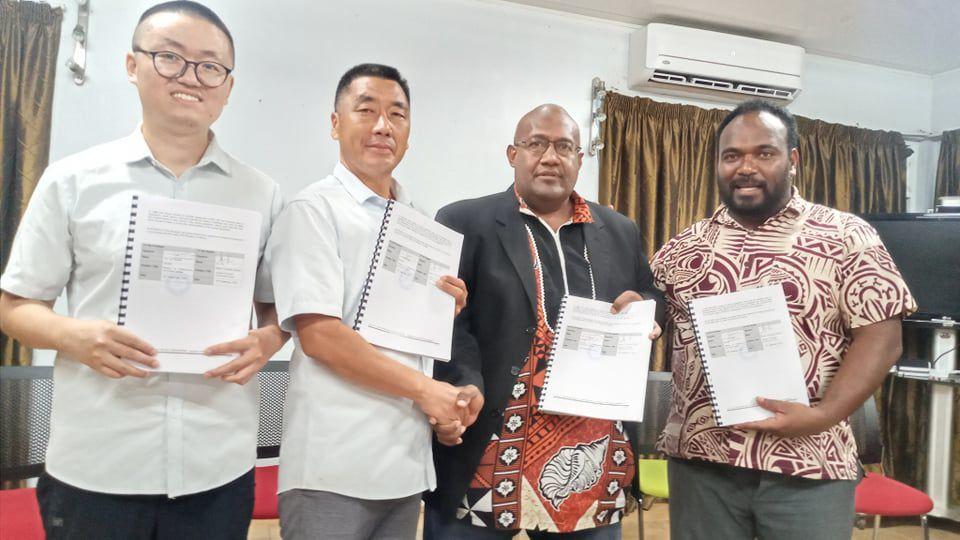 瓦努阿图政府与中国公司之间的机械协议