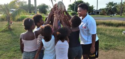 Olympians lead FASANOC contribution to community outreach programme