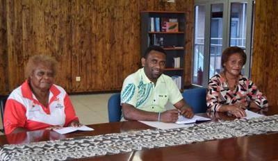 MSG Sports Division holds Consultation with Vanuatu Netball Association