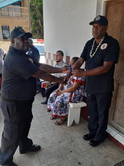 Herve Hopkins is new Municipal Chief Warden