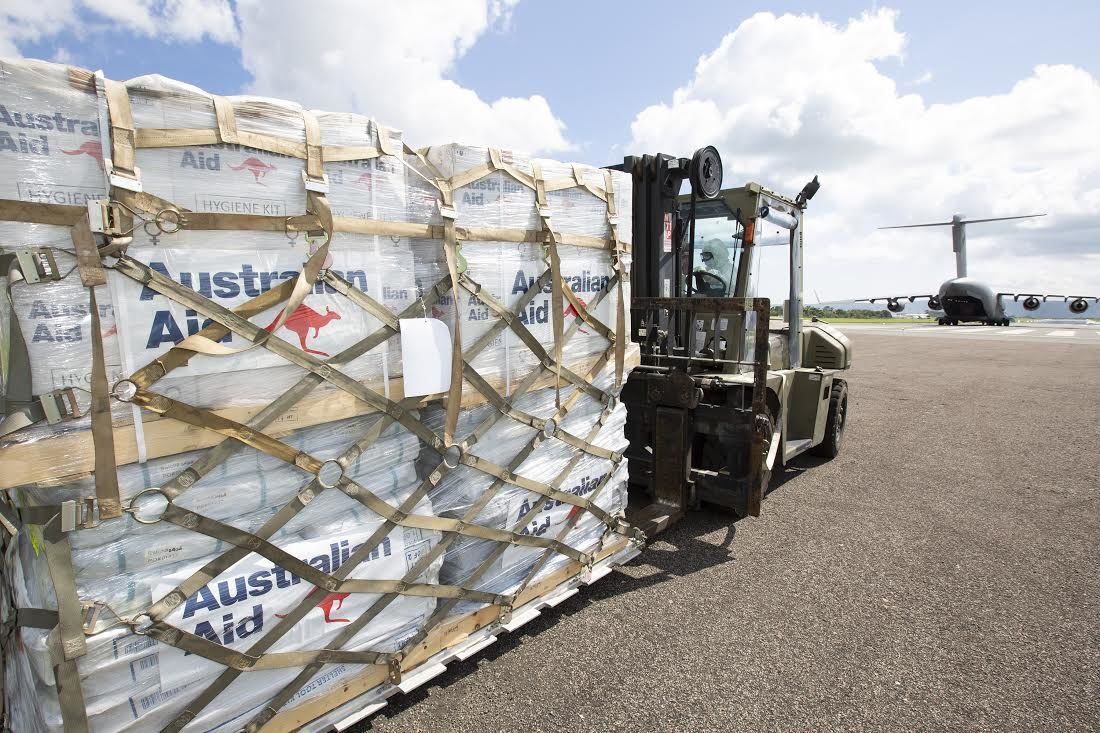 Australia respond with Vt300million relief package
