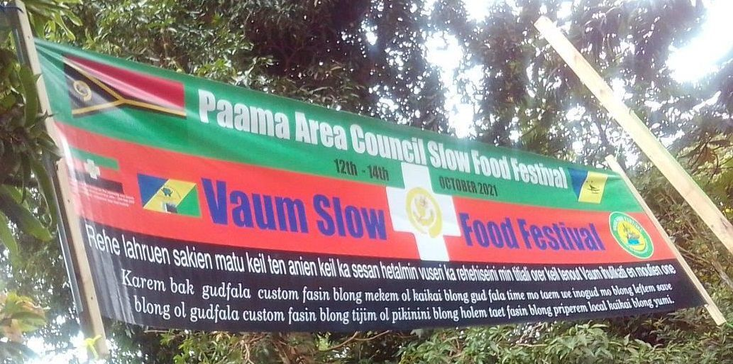 Vaum Slow Food Festival underway
