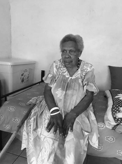 Meet Port Vila Market House's first tea seller