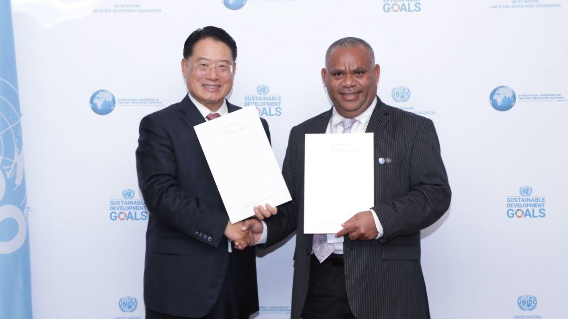 Deputy PM announces Vanuatu's impending graduation from Least Developed Country status